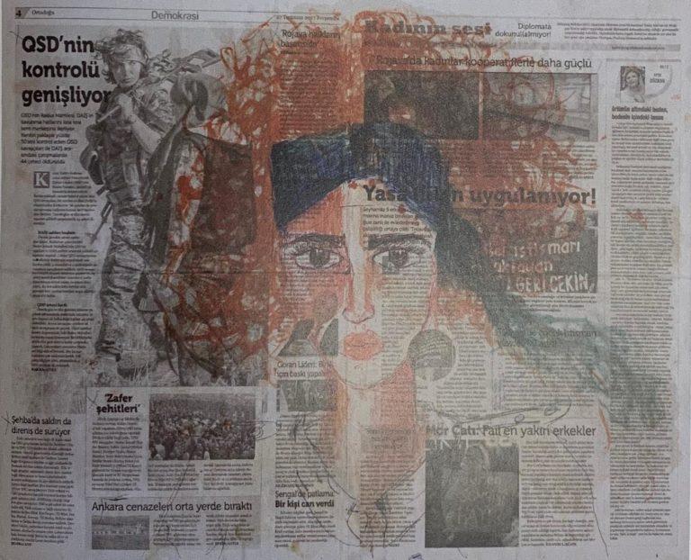 Zehra Doğan. Pittura d'evasione contro gli scorpioni di Erdogan