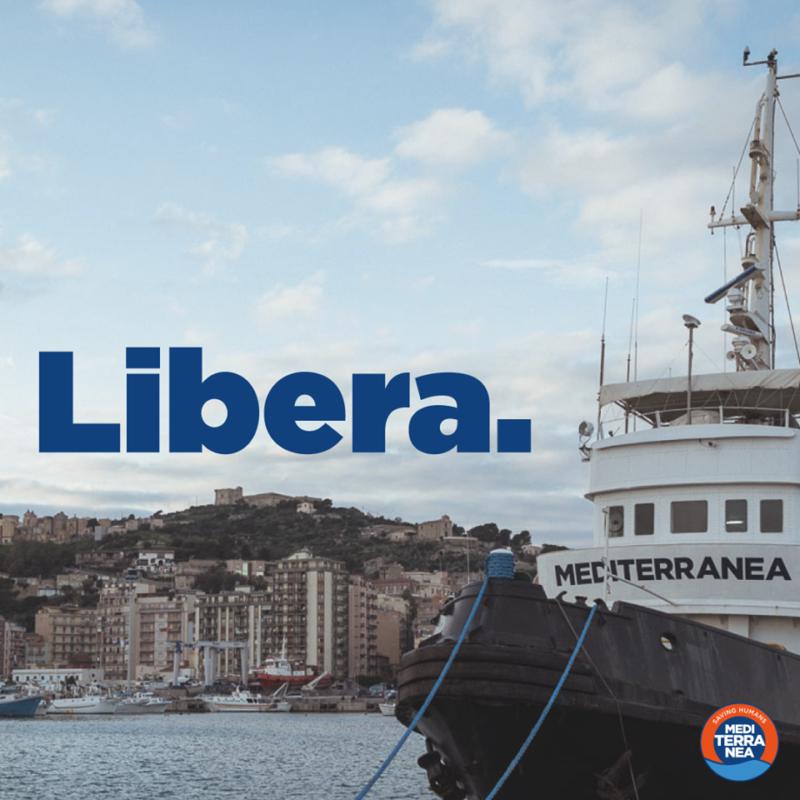 La vita vale più di una patria: la Mare Jonio è libera