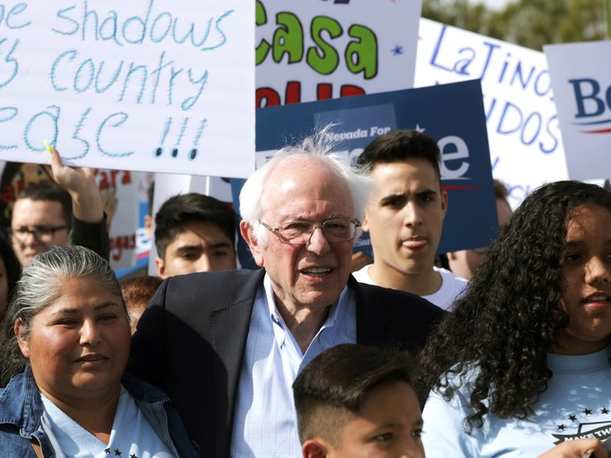 Nevada, così Sanders vince tra i latinos