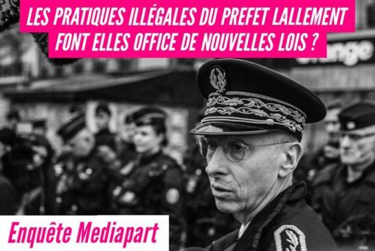 Francia: il prefetto che fa massacrare i manifestanti