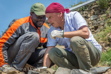 Muri di solidarietà alle Cinque Terre