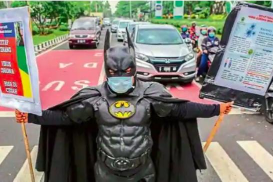 E anche Batman fece lo smart working