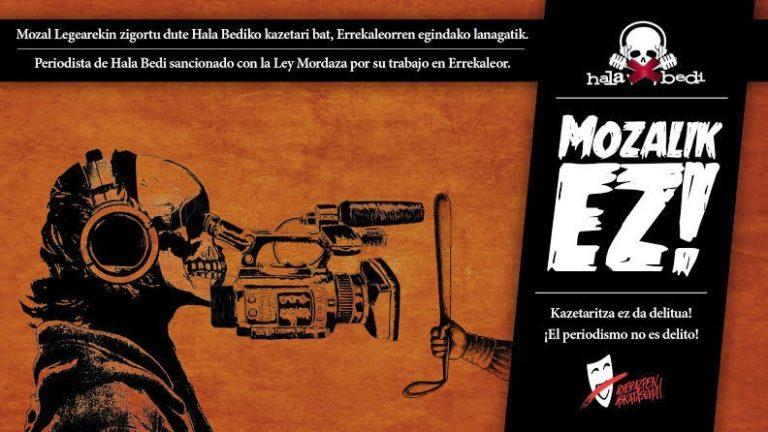 Paesi baschi, la polizia contro il diritto di cronaca