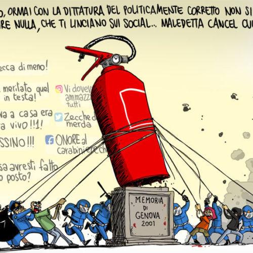 Genova 2001, è importante ricordare l'odio