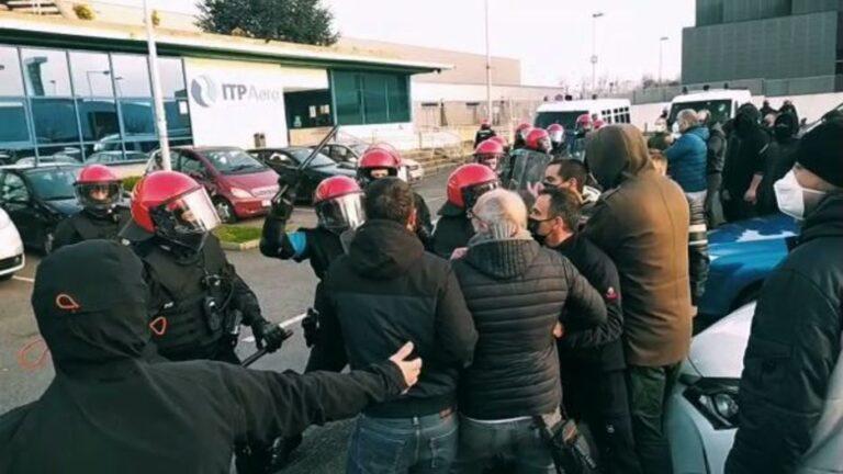 Il governo basco fa spaccare la faccia a un sindacalista