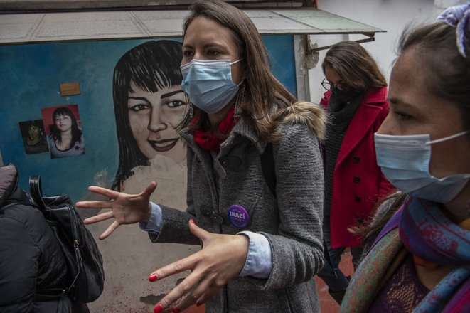 Cile, è comunista la sindaca di Plaza Dignidad