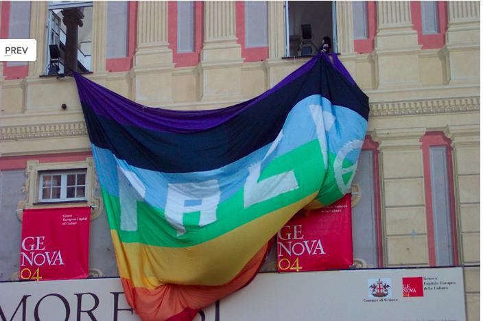 Genova, mille ore di silenzio contro la guerra