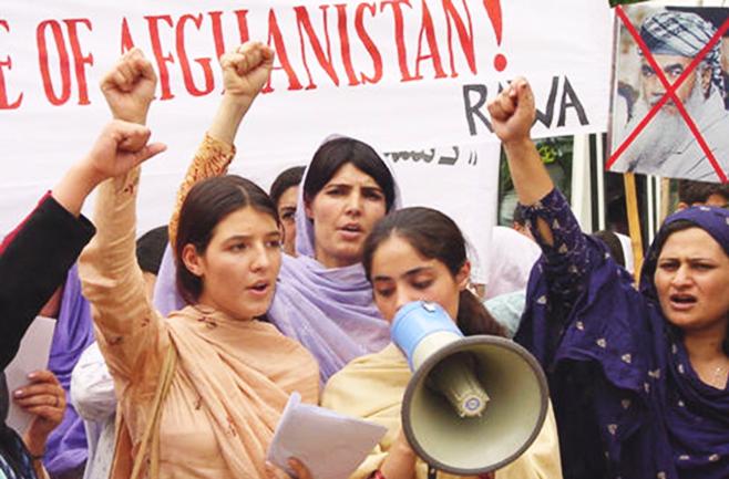 Le rivoluzionarie afghane rispondono alla scalata dei talebani