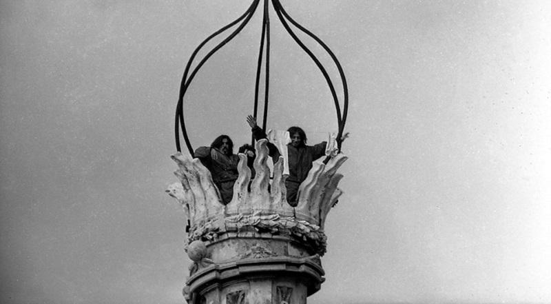 Gli Uccelli sul campanile di Sant'Ivo alla Sapienza