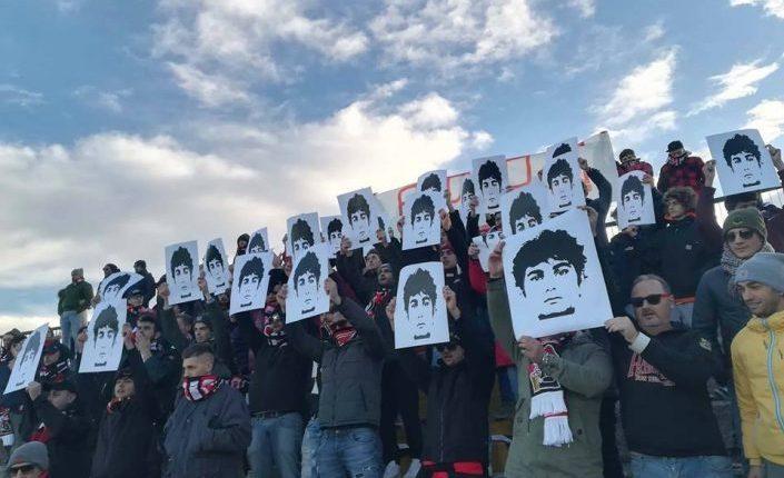 Federico ovunque, negli stadi e nelle strade la foto di Aldrovandi