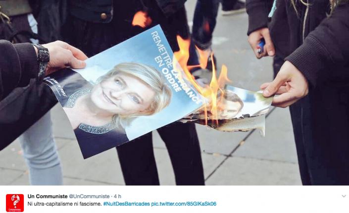 Francia, duello Macron-LePen. Scontri alla Bastiglia